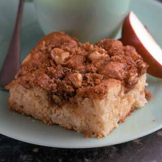 Apple Nut Coffee Cake.