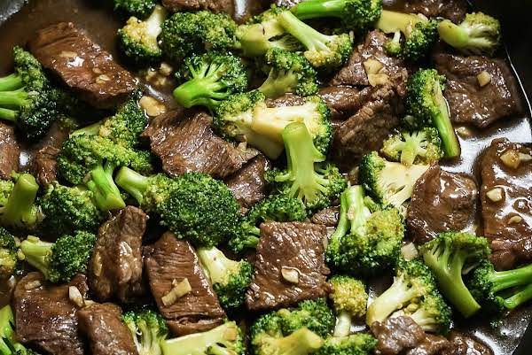 Beef Broccoli With Oyster Sauce Recipe
