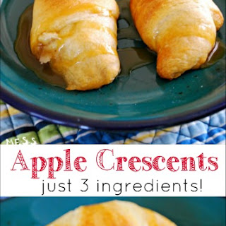 Food Fun Friday - Apple Crescents