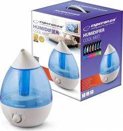 Umidificator cu aer rece, silentios, capacitate 2.6 litri