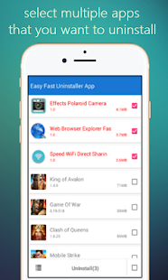 Easy Fast Uninstaller App - náhled