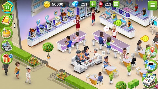 My Cafe: Recipes and Stories Mod Apk 2020.4.6 6