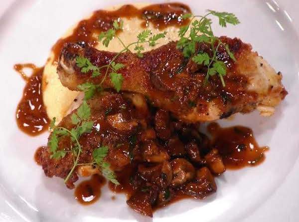 Bobby Flay's Chicken Chasseur Recipe