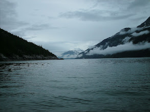 Photo: Looking northward up Taiya Inlet toward Skagway.