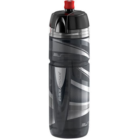 Elite Sykkelflaske Elite Super Jossanova 750ml, sort/røk