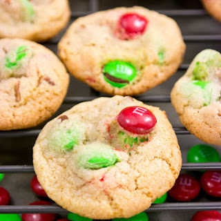 Mini M&M Pecan Cookies Recipe