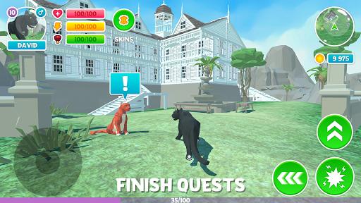 Panther Family Simulator 3D: Adventure Jungle  captures d'écran 2