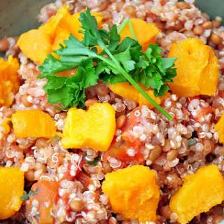 Tomato & Squash Protein Bowl