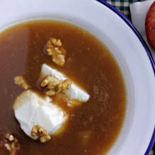 Norwegian Apple Soup {Food of the World}.
