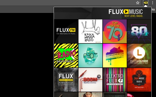 Flux FM Player
