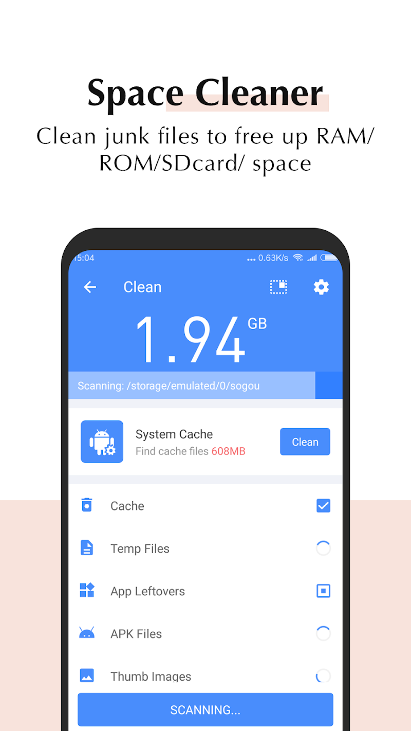 All-In-One Toolbox: Cleaner & Speed Booster Screenshot 1