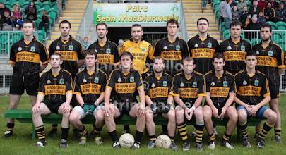 Photo: Bornacoola Team, County Semi-Final 2009