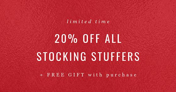 Stocking Stuffers Sale - Christmas Template