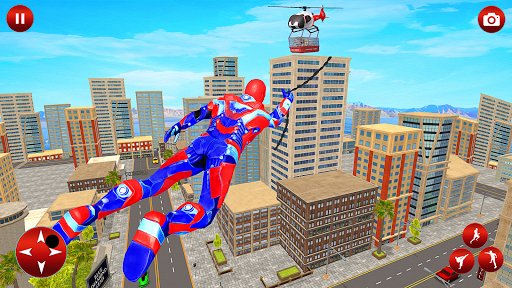 Light Police Speed Hero Robot Rescue Mission 1.8 screenshots 7