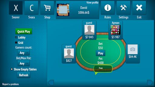 Hrapoff -  card games online: Snore and Svara 0.19.94 screenshots 3