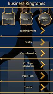 Business Ringtones - náhled