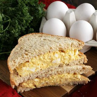 Deviled Egg Salad Sandwiches