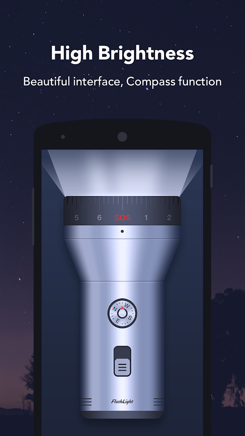 Flashlight - Brightest&Free- screenshot
