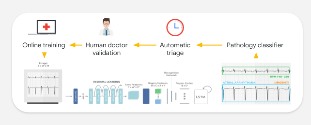 Portal Telemedicina uses AI to classify medical findings and to recommend the urgency of treatment.