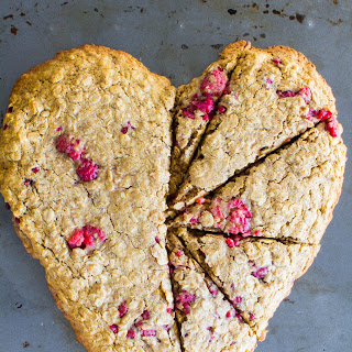 Heart-shaped Oatmeal Breakfast Cookie