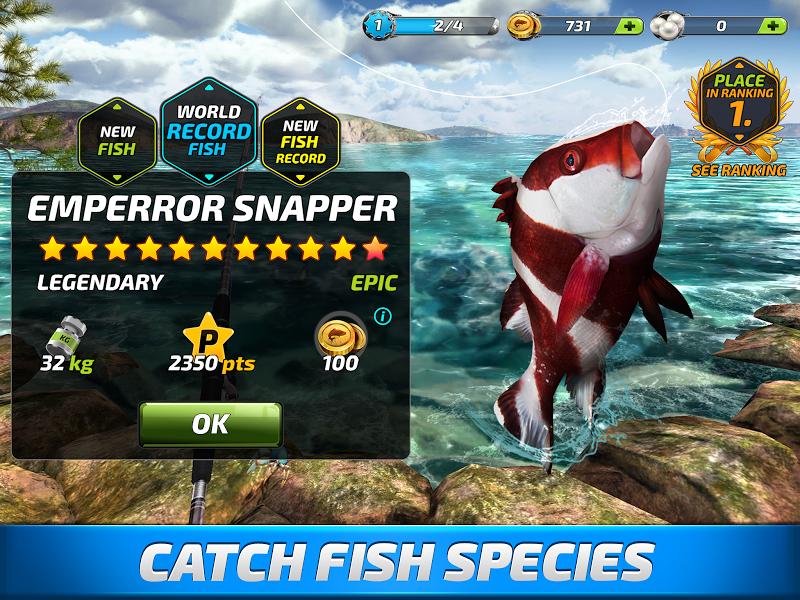 Fishing Clash: Catching Fish Game. Bass Hunting 3D Screenshot 4