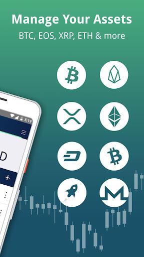 Edge - Bitcoin, Ethereum, Monero, Ripple Wallet 1.11.5 screenshots 2