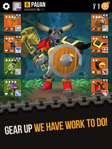 Duels: Epic Fighting Action RPG PVP Game screenshots apkshin 11