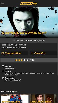 Cinemax GO ® - screenshot