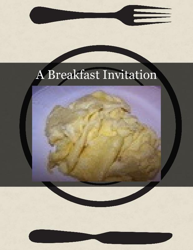 A Breakfast Invitation