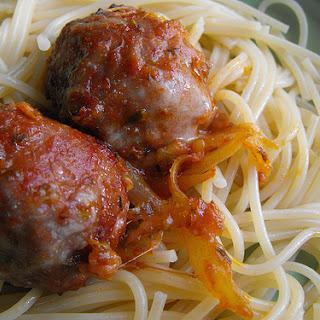 Meatballs with Garden Seasoning - Actifry Recipe.