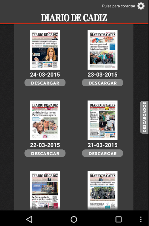 Diario de Cádiz- screenshot