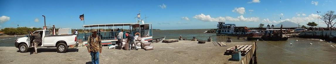 Photo: Ferry to Omotepe Island