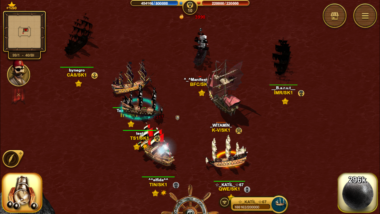 Son Korsan Pirate MMO- screenshot