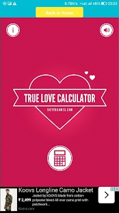 True Love and Age Calculator - náhled