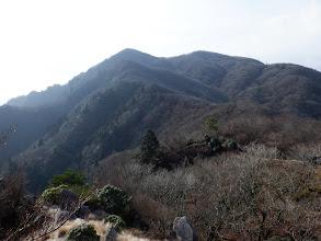 釈迦ヶ岳を見返す