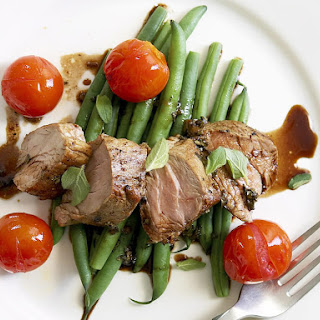 Balsamic Glazed Pork Tenderloin.