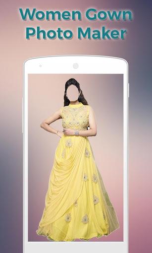 Women Gown Dress Photo Maker 1.1 screenshots 3