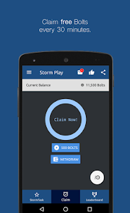 Storm Play - Earn Free Bitcoin- screenshot thumbnail