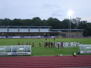Photo: 22/08/11 v Farnborough Town (Conference South) 2-2 - contributed by Gyles Basey-Fisher