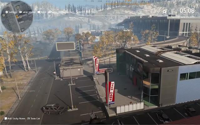 Call Of Duty Wallpaper HD New Tab Theme