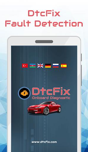dtcfix - wifi/bluetooth car fault code diagnostic screenshot 1