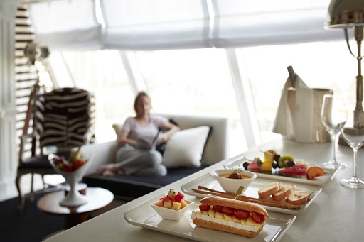 Oceania-Owners-Room Service.jpg - Pamper yourself with complimentary room service on Oceania Cruises.