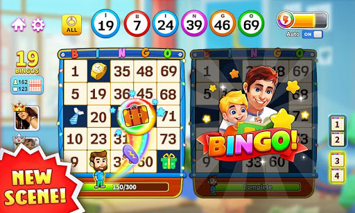 Bingo: Lucky Bingo Games Free to Play Toon Scapes 2