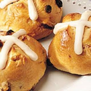 Bread Machine Hot Cross Buns.