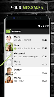 SMS from Android 4.4- screenshot thumbnail