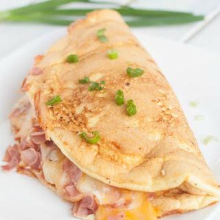 Ham & Cheese Omelete Soufflé