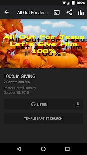 Temple Baptist Church - Ohio- screenshot thumbnail