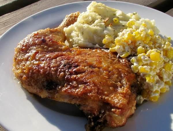 Honey-glazed Baked Chicken Quarters