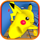 3D Subway Pika Mon Dragon Run