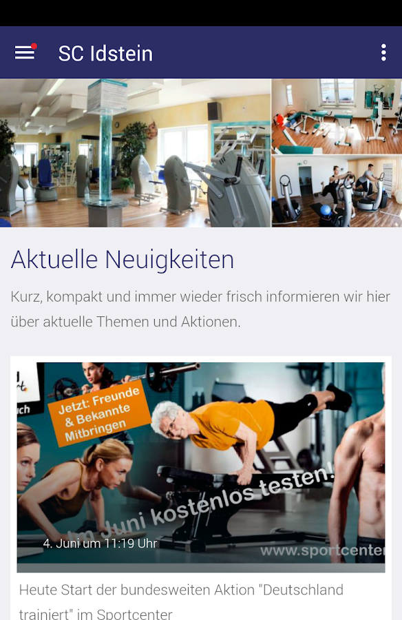Sport Center Idstein- screenshot